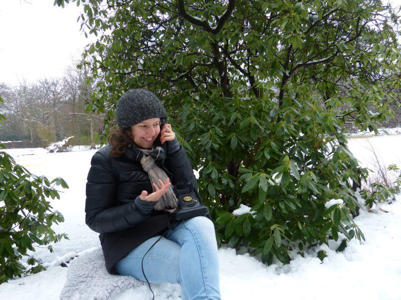 Telefonberatung mit Johanna Schneider von der Haarschneiderei
